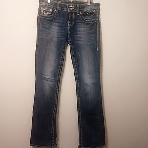 Vigoss | The Chelsea Slim Boot Denim Jeans 8